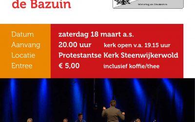 Concert in de PKN kerk in Steenwijkerwold