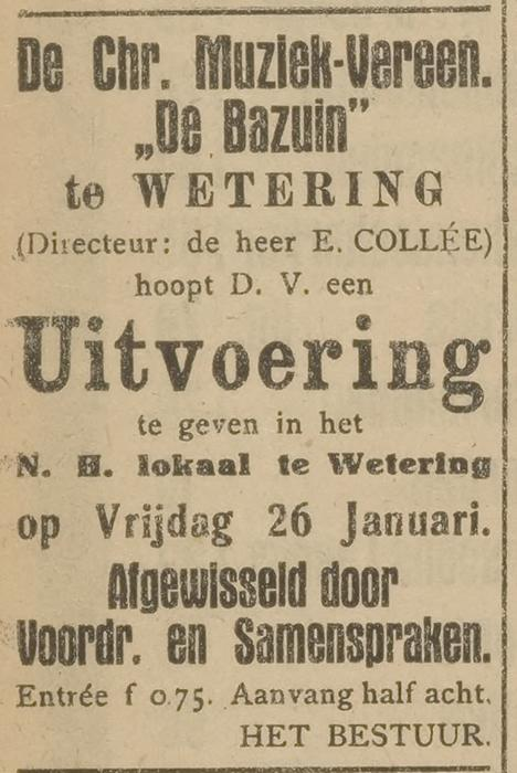 Opregte Steenwijker courant 20-01-1923