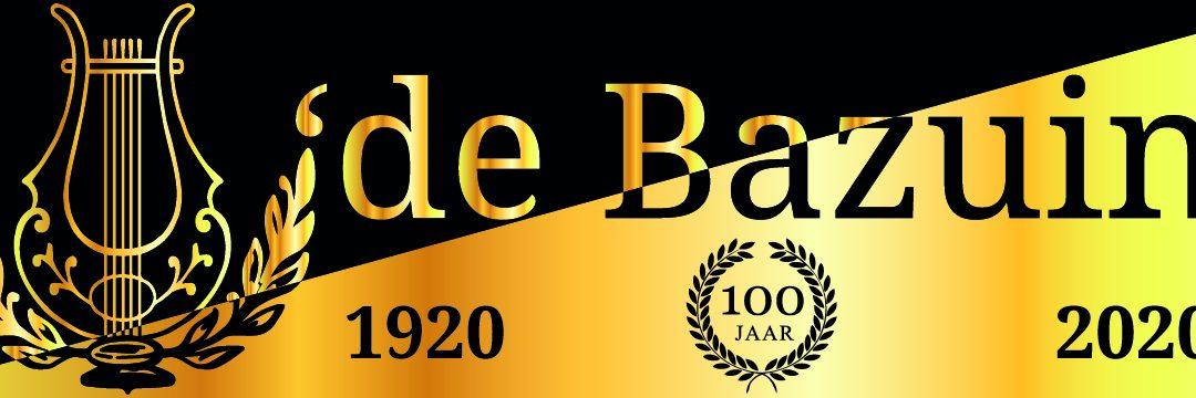 2020 is een feestelijk jaar voor de Bazuin