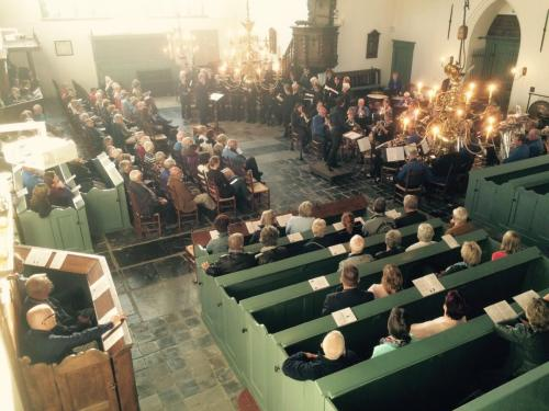 Concert met Kolkklanken Hervormde Kerk Blokzijl - 30-5-2015 - 2