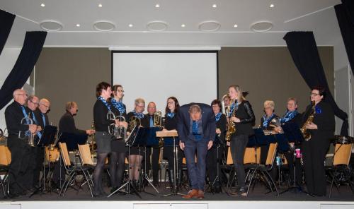 Najaarsconcert De Wielewaal Scheerwolde - 19-11-2016 - 10