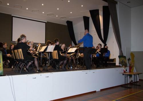 Najaarsconcert De Wielewaal Scheerwolde - 19-11-2016 - 2