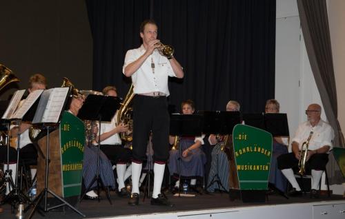 Najaarsconcert De Wielewaal Scheerwolde - 19-11-2016 - 35