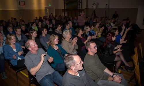 Najaarsconcert De Wielewaal Scheerwolde - 19-11-2016 - 42