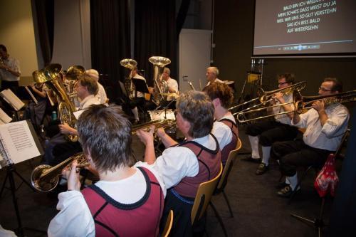 Najaarsconcert De Wielewaal Scheerwolde - 19-11-2016 - 43