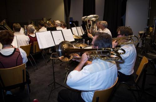 Najaarsconcert De Wielewaal Scheerwolde - 19-11-2016 - 45