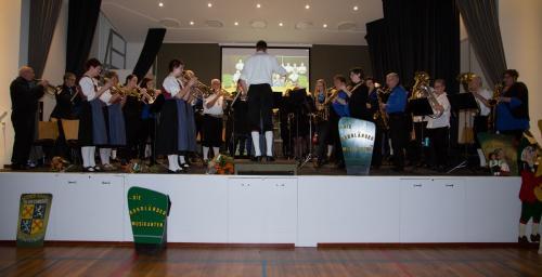 Najaarsconcert De Wielewaal Scheerwolde - 19-11-2016 - 57