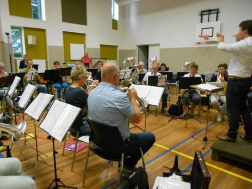 Voorbereiding Klassiek Ontmoet Pop - 10-09-2015 -   1