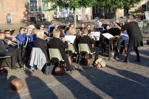 Zomeravond concert De Bazuin Wetering Havenkolk Blokzijl - 03 juli 2019