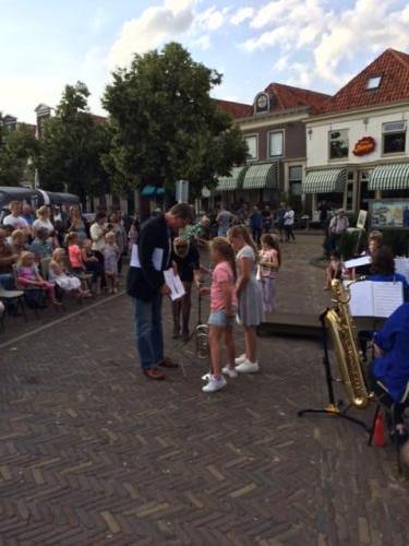 Zomeravond concert de Bazuin Wetering -  05-07-2017 - 2