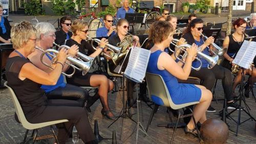 Zomeravond concert de Bazuin Wetering -  05-07-2017 - 9